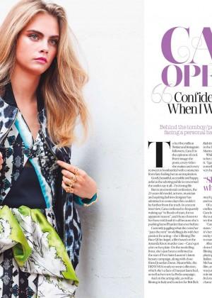 Cara Delevingne: Look Magazine -03