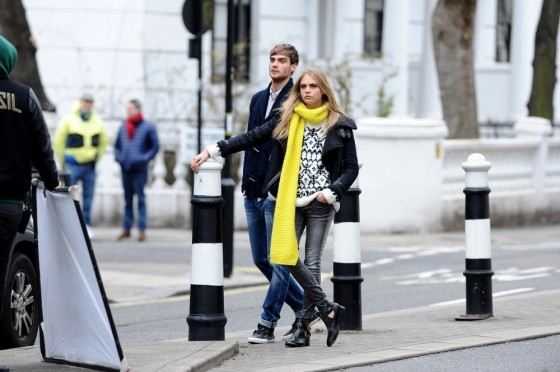 Cara Delevingne – Photoshoot in London -21