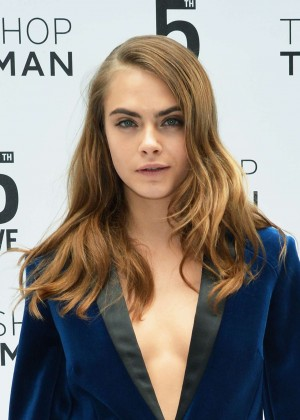 Cara Delevingne - Topshop Topman Flagship Store Grand Opening in NYC