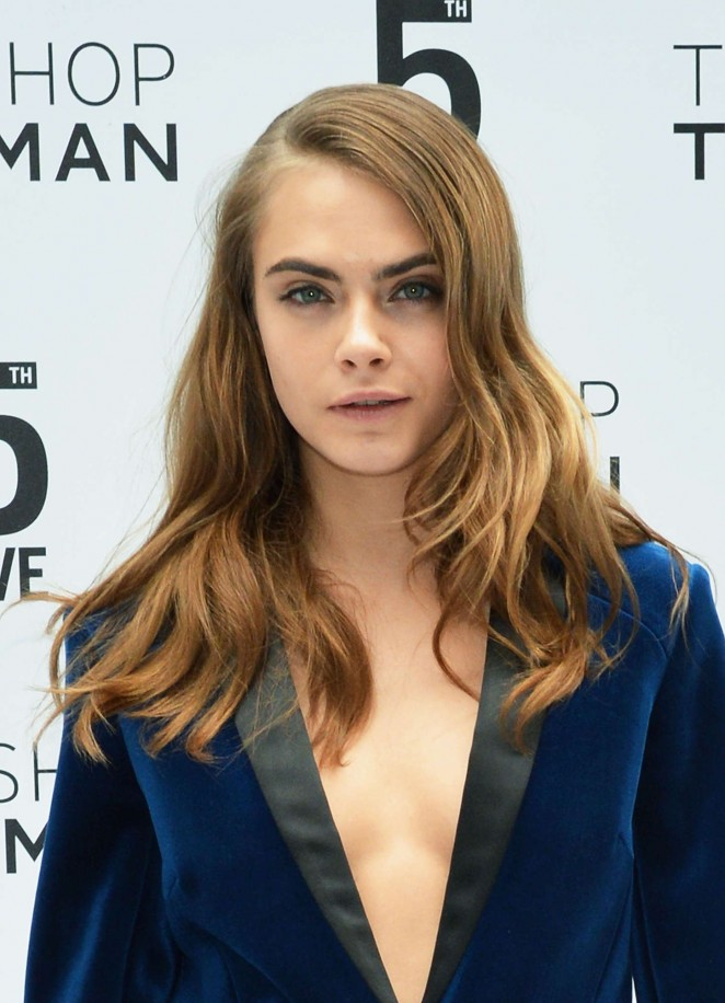 Cara Delevingne – Topshop Topman Flagship Store Grand Opening in NYC
