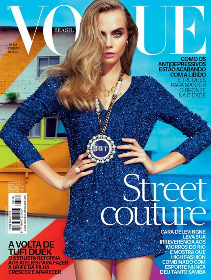 Cara Delevingne: Cover Vogue Brazil -01