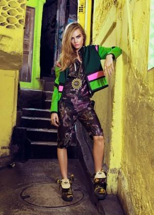 Cara Delevingne: Vogue Brazil 2014 -01