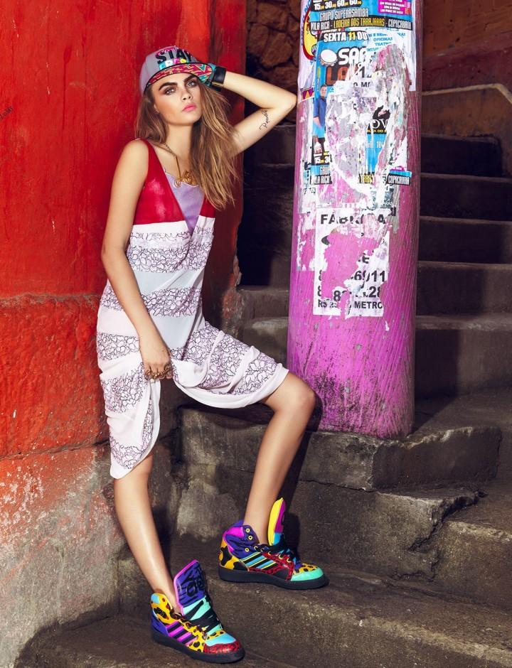 Cara Delevingne – Vogue Brazil Magazine (February 2014)