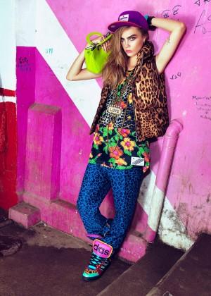 Cara Delevingne: Vogue Brazil 2014 -04