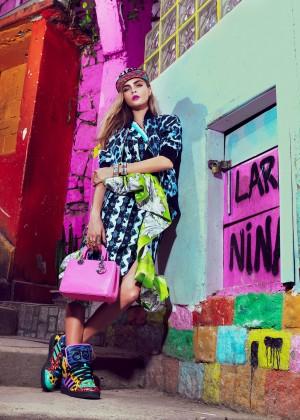 Cara Delevingne: Vogue Brazil 2014 -05