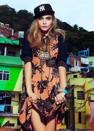 Cara Delevingne: Vogue Brazil 2014 -06