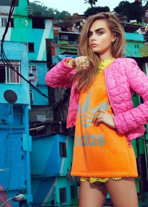 Cara Delevingne: Vogue Brazil 2014 -07