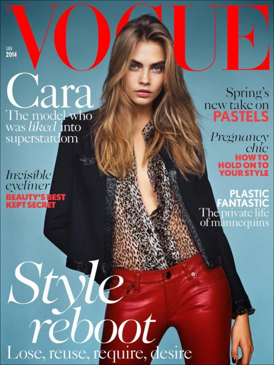 Cara Delevingne: Vogue UK 2014 -04