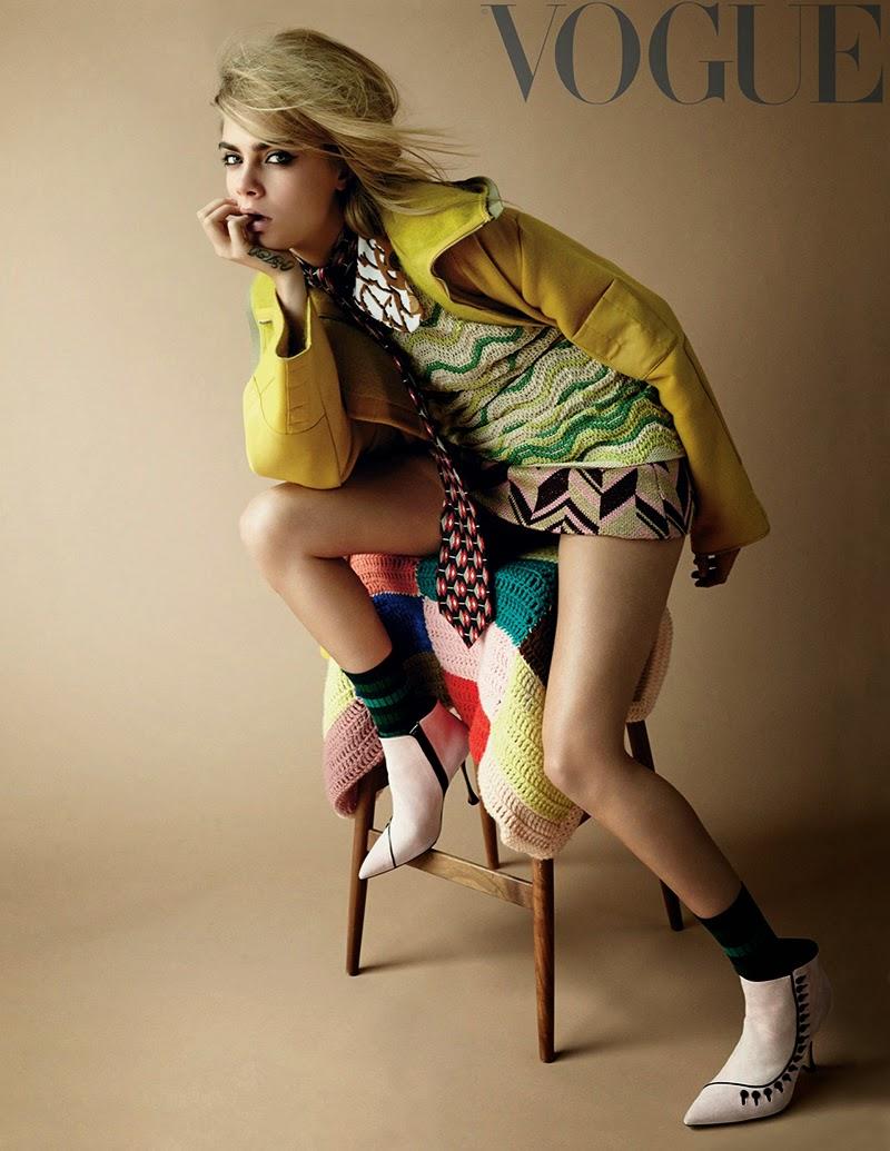 Cara Delevingne - Vogue UK Magazine (September 2014)