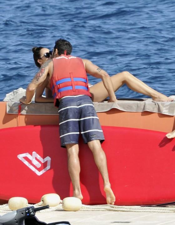Cara Santana in Bikini in Monte Carlo -02