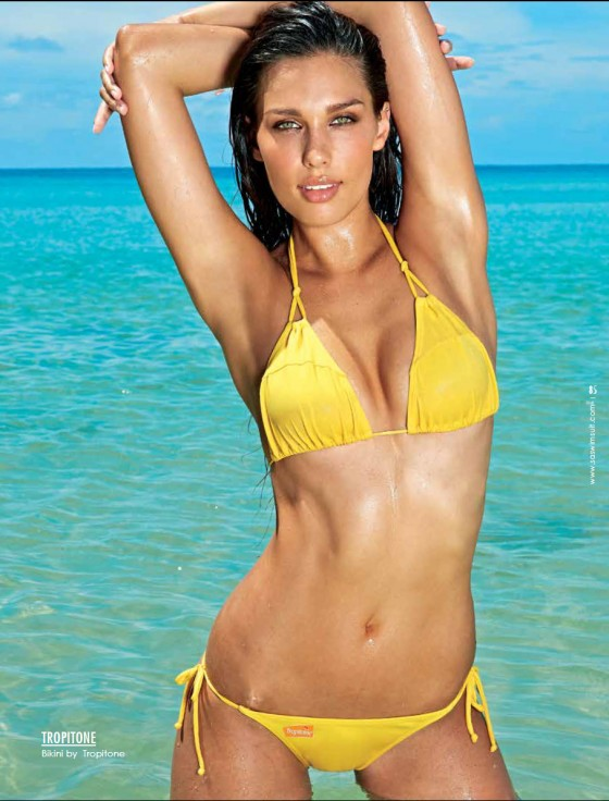 Careen Truter: South African Swimsuit 2013 -07