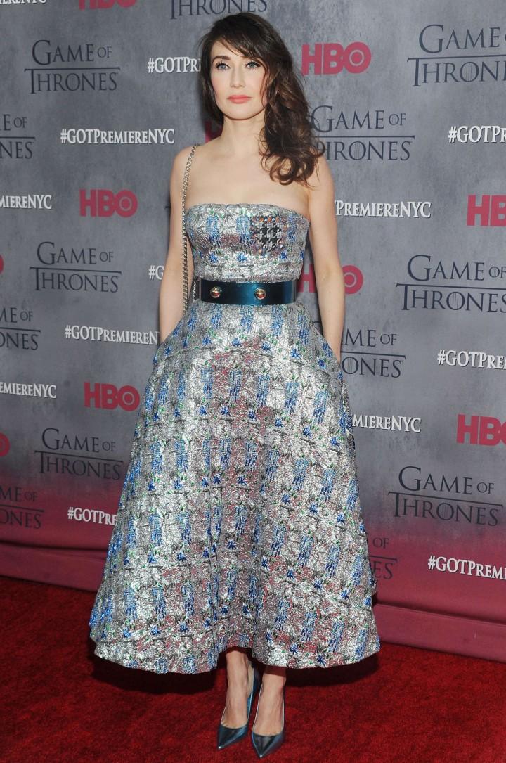 Carice van Houten: Game of Thrones NY Premiere -01