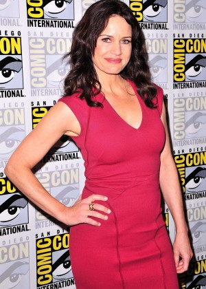 Carla Gugino at Comic-Con 2014 Fox International Channels