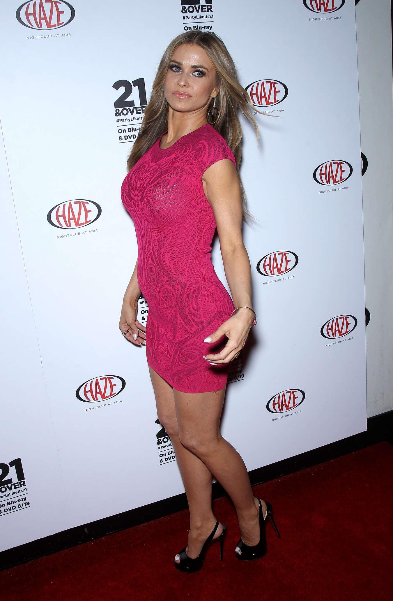 Carmen Electra in tight dress-35 - GotCeleb