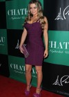Carmen Electra cleavage at the Chateau Nightclub-03