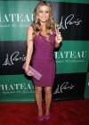 Carmen Electra cleavage at the Chateau Nightclub-14
