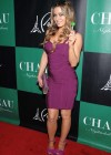 Carmen Electra cleavage at the Chateau Nightclub-20