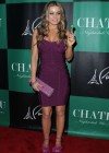 Carmen Electra cleavage at the Chateau Nightclub-22