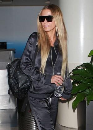 Carmen Electra at LAX Airport in LA