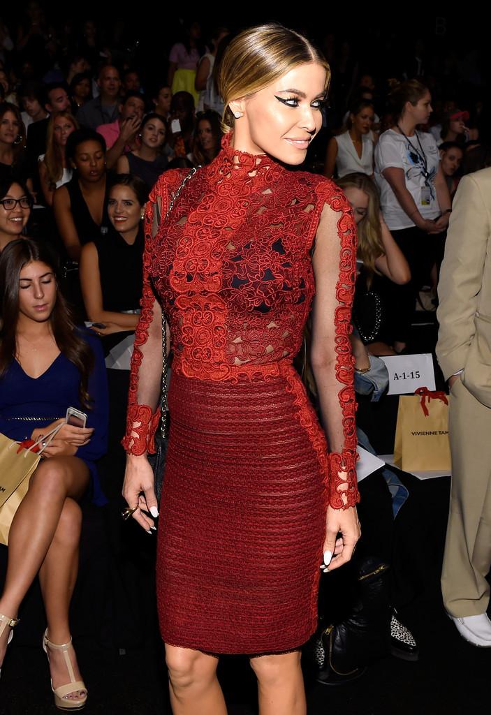 Carmen Electra - Vivienne Tam Spring 2015 Fashion Show in NYC