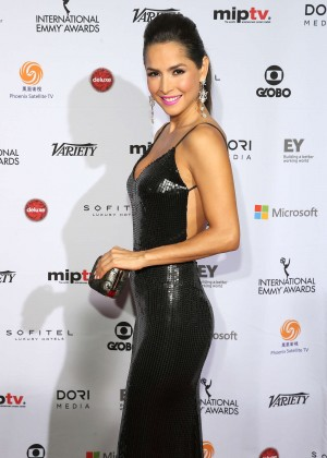 Carmen Villalobos - 2014 International Academy Of Television Arts & Sciences Emmy Awards in NYC