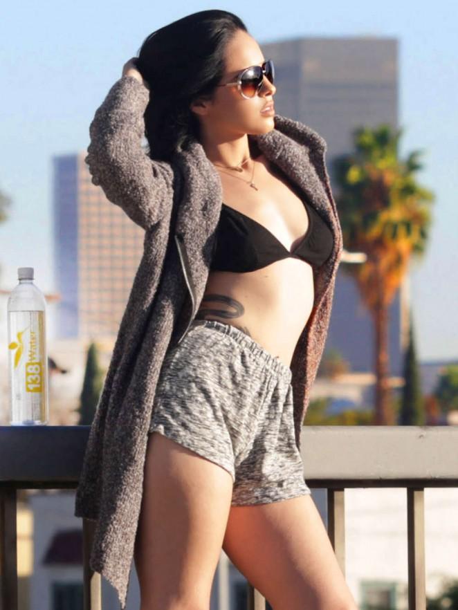 Carmireli Hot Photoshoot in LA