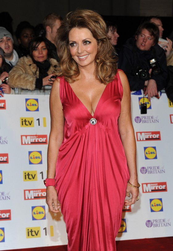 Carol Vorderman cleavage at The Pride of Britain Awards-08