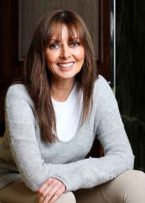 Carol Vorderman by Clara Molden Photoshoot 2014