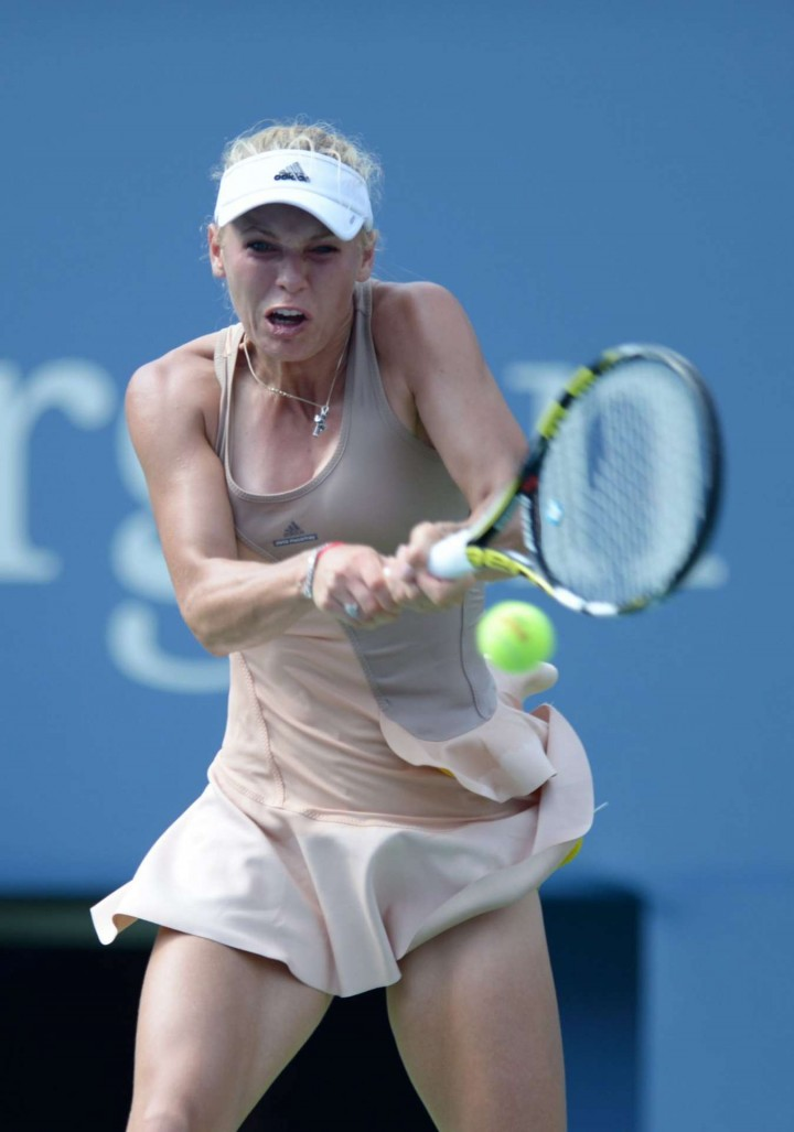 Carolina Wozniacki - 2014 US Open (4th Round match)