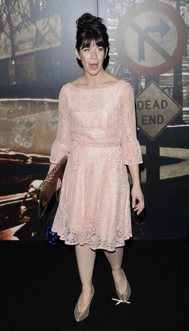 Caroline Catz - Specsavers Crime Thriller Awards 2014  London