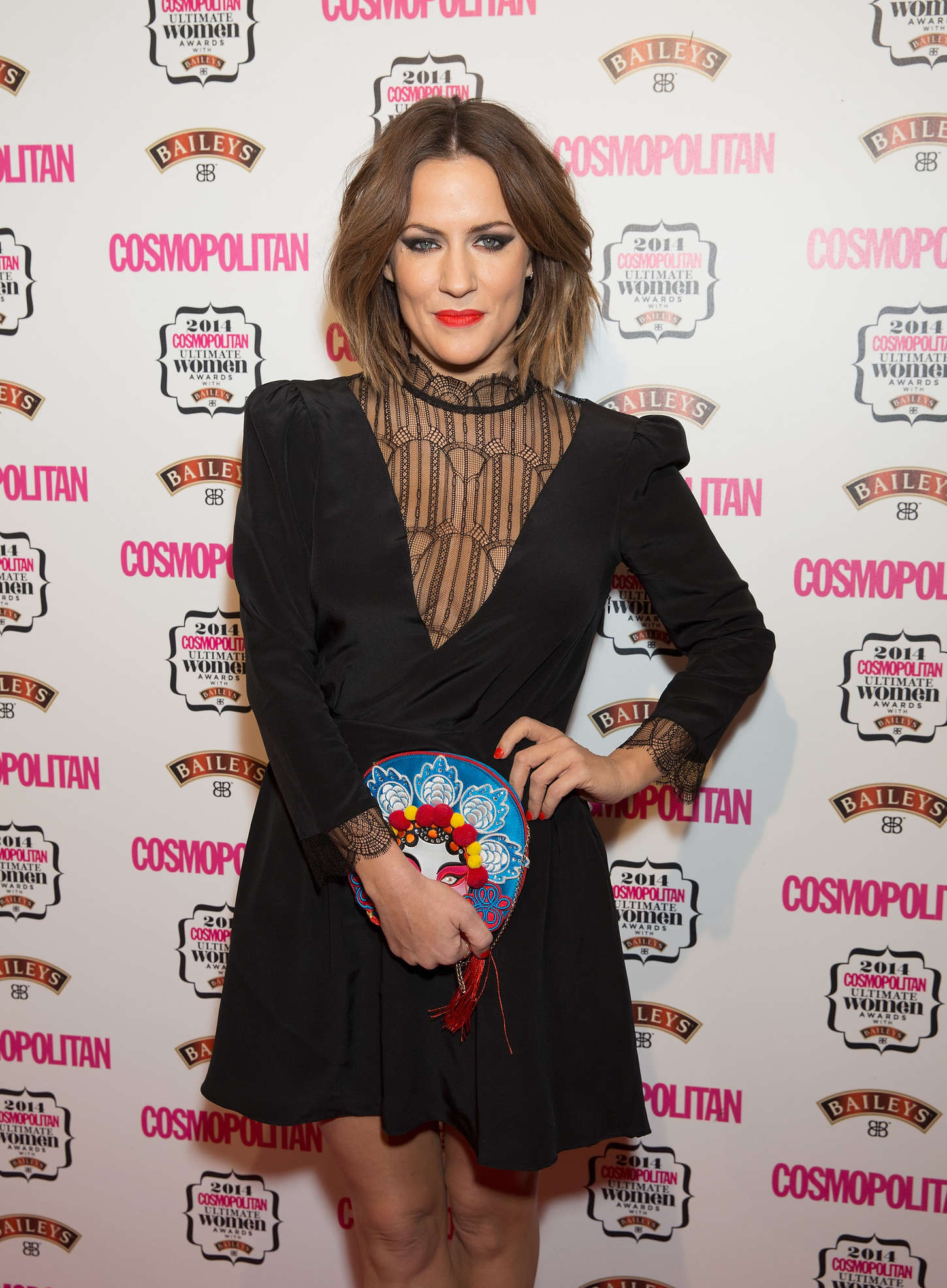 Caroline Flack - 2014 Cosmopolitan Ultimate Women Awards in London