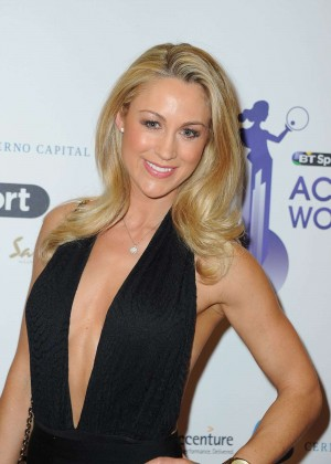 Caroline Pearce - BT Sport Action Woman Awards in London