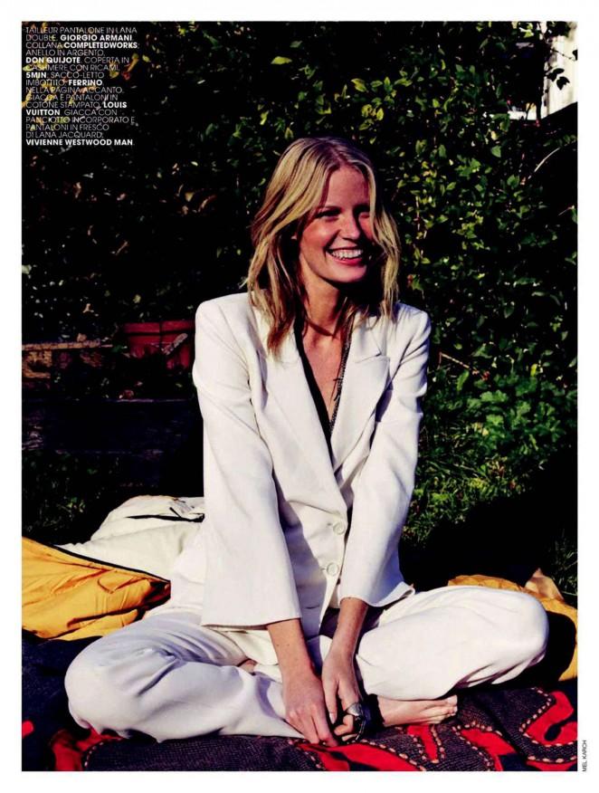 Caroline Winberg - Marie Claire Italy Magazine (January 2015)