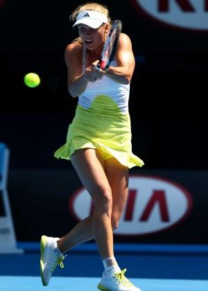 Caroline Wozniacki - Australian Open 2013 (Day 8)