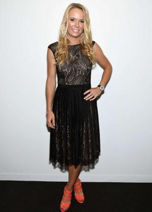 Caroline Wozniacki - Michael Kors Fashion Show in NYC