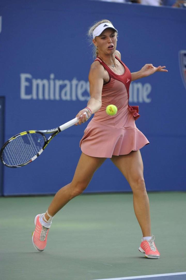 Caroline Wozniacki – US Open 2014 Final Match in NYC