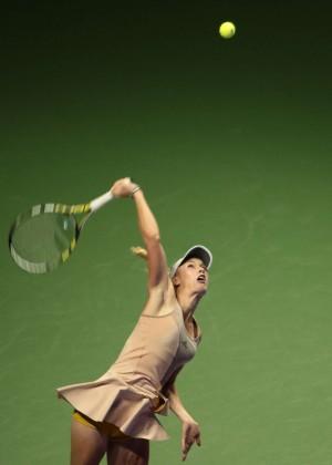 Caroline Wozniacki - WTA Finals 2014 in Singapore