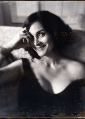 Carrie-Anne Moss by Catherine Just Photoshoot for Annapurna Living 2014