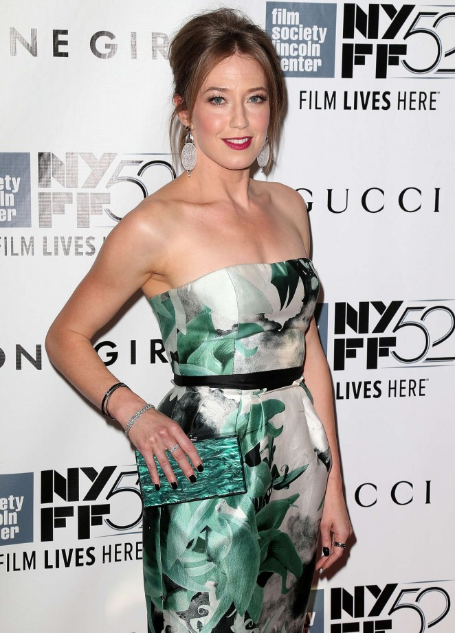 "Carrie Coon - ""Gone Girl"" Premiere in New York City"