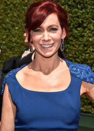 Carrie Preston - Creative Arts Emmy Awards 2014