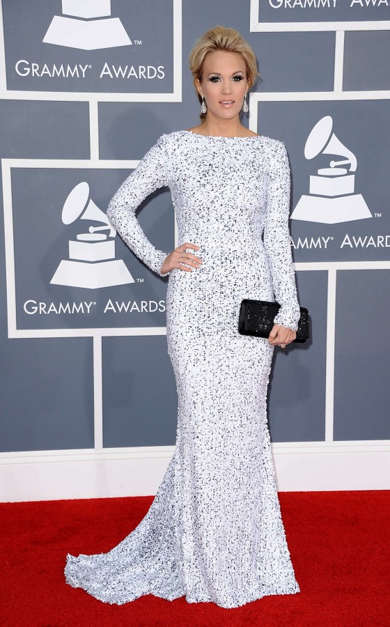 Carrie Underwood – 54th Annual Grammy Awards in Los Angeles-04