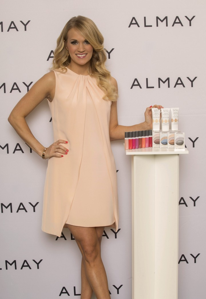 Carrie Underwood – Almay new global brand ambassador