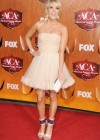 Carrie Underwood - White Dress at Country Awards-05