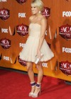 Carrie Underwood - White Dress at Country Awards-06