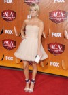 Carrie Underwood - White Dress at Country Awards-07