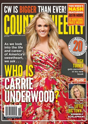 Carrie Underwood - Country Weekly Cover 2014 -01