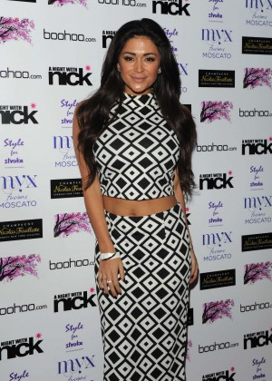 "Casey Batchelor at ""A Night With Nick"" in London"