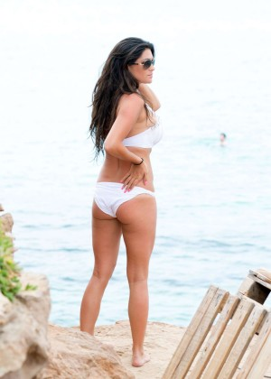 Casey Batchelor Bikini: Photoshoot in Ibiza -11