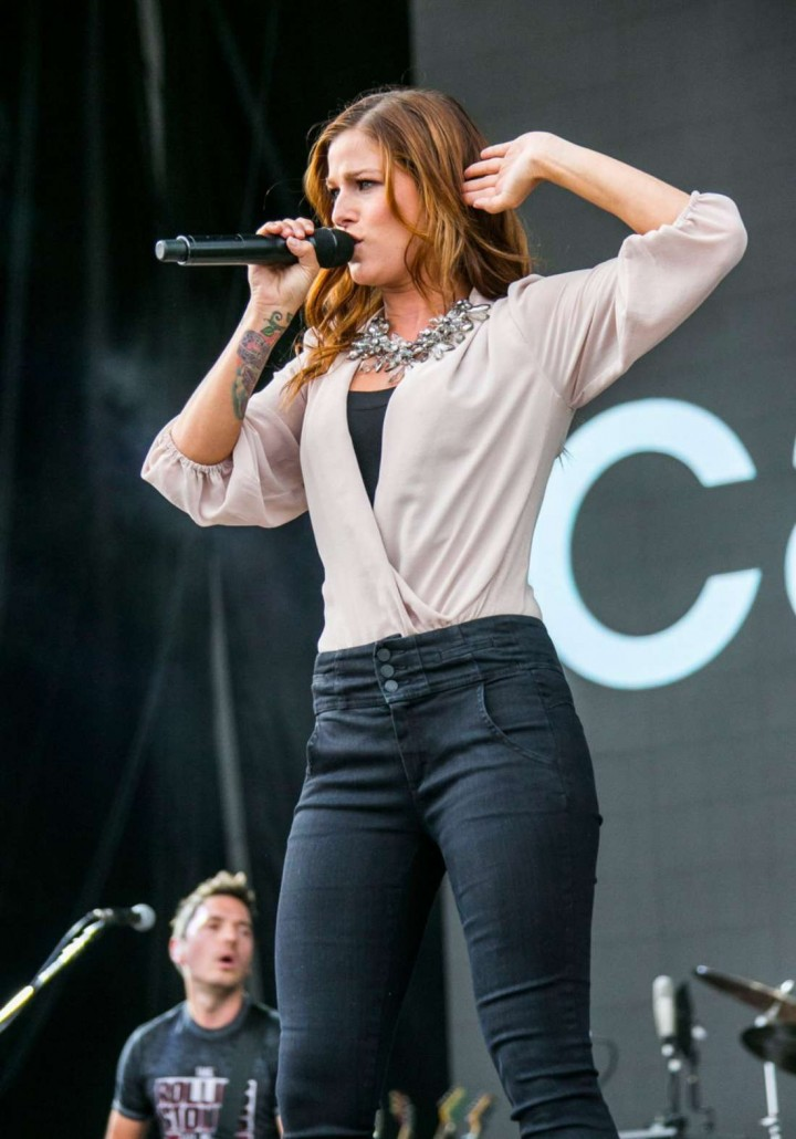 Cassadee Pope - Performs at Faster Horses Festival in Brooklyn, Michigan