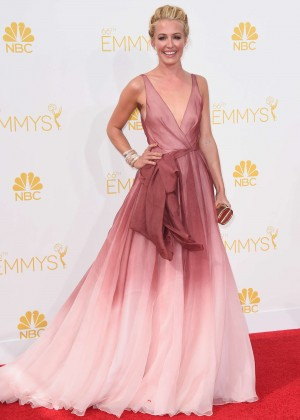 Cat Deeley - 66th annual Primetime Emmy Awards in LA